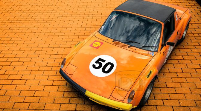 Colorful Porsche 914